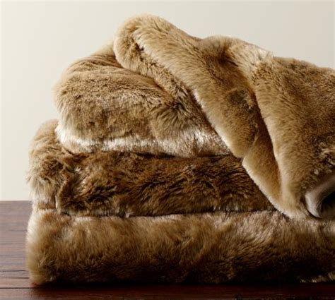 pottery barn fur blanket weekly wishlist cozy throws two purple couches