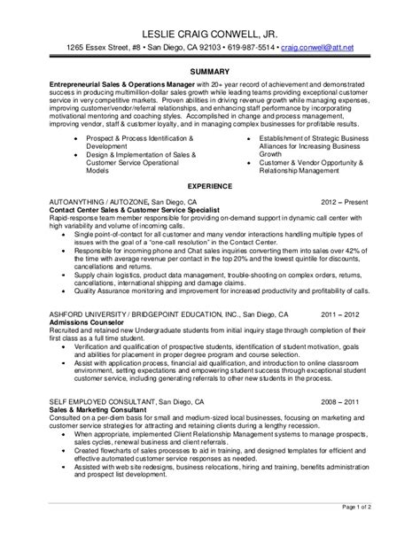 Admissions Counselor Resumeadmissions Counselor Resume by Craig Conwell Resume 2013