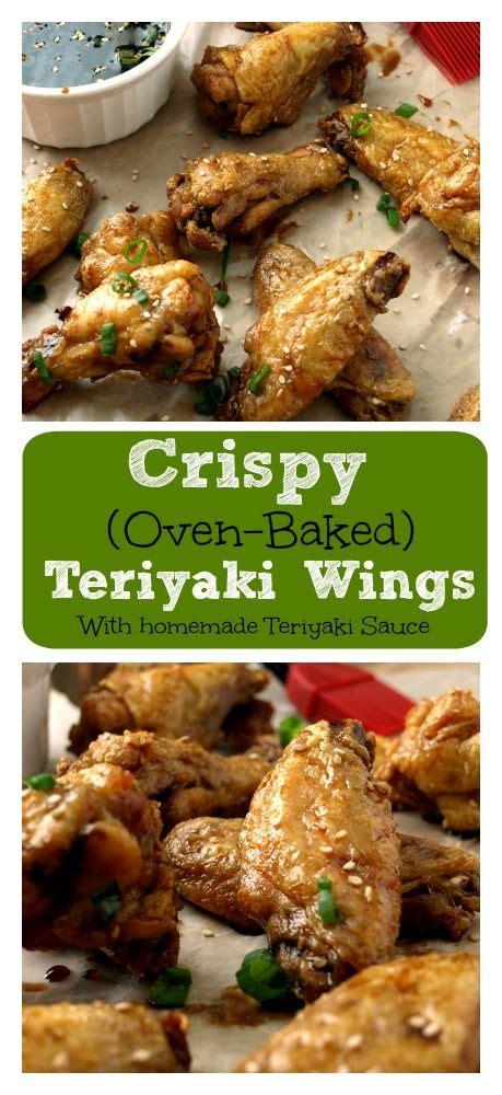 1/3 cup soy vay® veri veri teriyaki®. Crispy Baked Teriyaki Wings | Recipe | Baked teriyaki chicken, Chicken wings, Teriyaki chicken wings