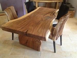 Holzplatte Massiv Kaufen : tisch aus baumstamm sch nes haus holztisch tisch und holz ~ Pilothousefishingboats.com Haus und Dekorationen