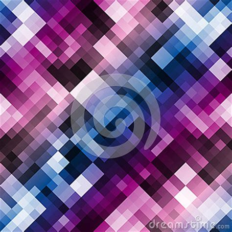 Abstract Geometric Pattern With Color Gradient Stock