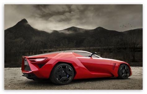 Red Supercar 4k Hd Desktop Wallpaper For 4k Ultra Hd Tv
