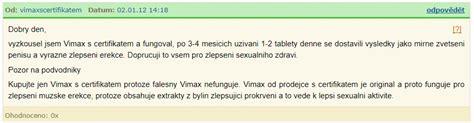 vimax nezaujatá diskuze zkušenosti a recenze