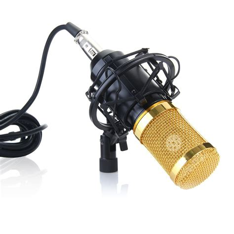 bm  condenser mic review