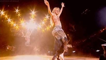 Shakira Belly Dance Gifs Tribal Colombian Costume