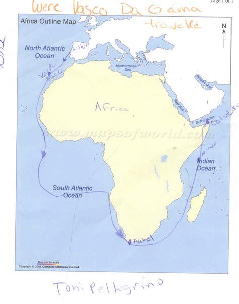Route Vasco Da Gama by 09explorationperiod2 Vasco Da Gama