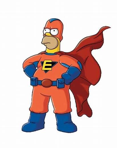 Superhero Animated Tv Cartoon Everyman Ten Superheroes