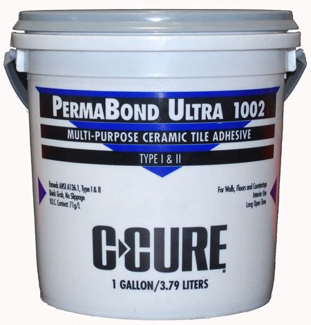 c cure permabond ultra mastic gallon by c cure