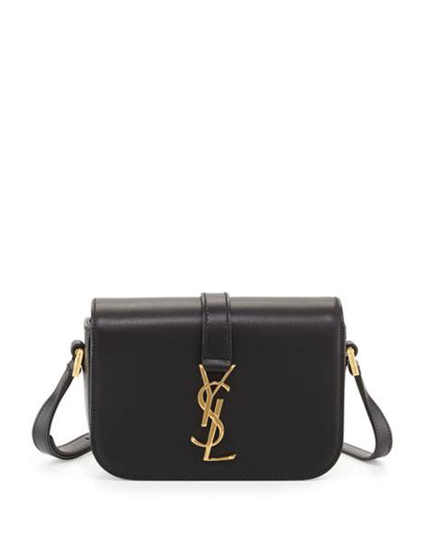 saint laurent monogram small universite satchel bag black