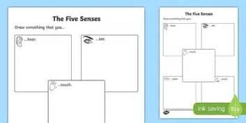 the five senses drawing worksheet worksheet worksheet