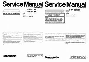 Panasonic Dmr Ez28 Dvd Recorder Service Manual Repair
