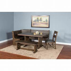 sunny designs homestead 0113tl t rustic style table with With homestead furniture and appliances