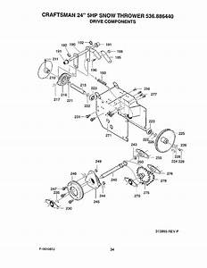 Page 34 Of Craftsman Snow Blower 536 88644 User Guide