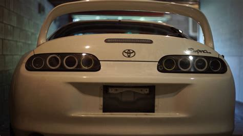supra led tail lights toyota supra mkiv led tail light conversion installed