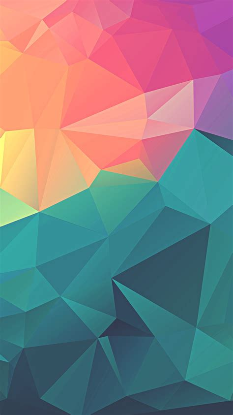 Geometric Wallpaper For Phone by Colorful Polygon Geometric Iphone Wallpaper Iphone