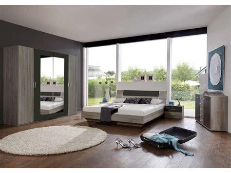 chambre adulte compl鑼e chambre complète ginny coloris chêne montana et lave vente de lit adulte conforama