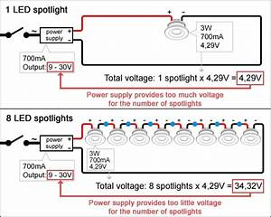 Connecting Current Controlled Led Spotlights  Do U2019s And Don