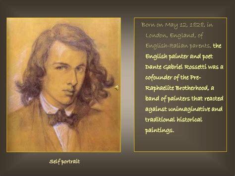 of dante gabriel rosetti dante gabriel rossetti painter and poet