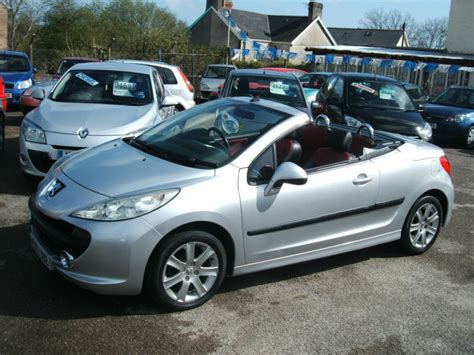 Peugeot 207 Convertible by 2007 Peugeot 207 Cc 1 6hdi Coupe Sport Convertible