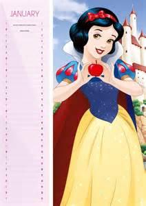 princesas disney calendarios