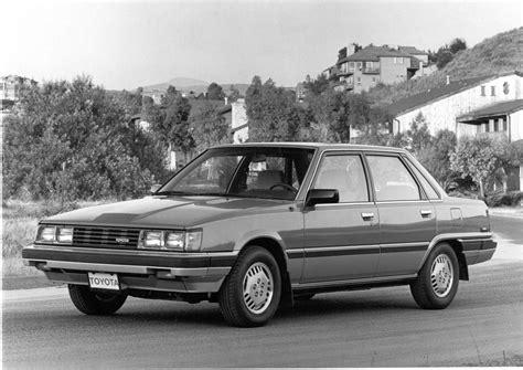 Toyota Camry History by History Of Toyota Camry 1st 1983 1986 Speeddoctor Net