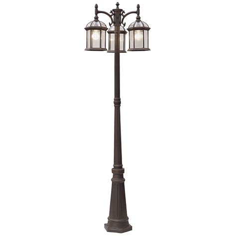 l post light fixtures l post light fixture outdoor home combo