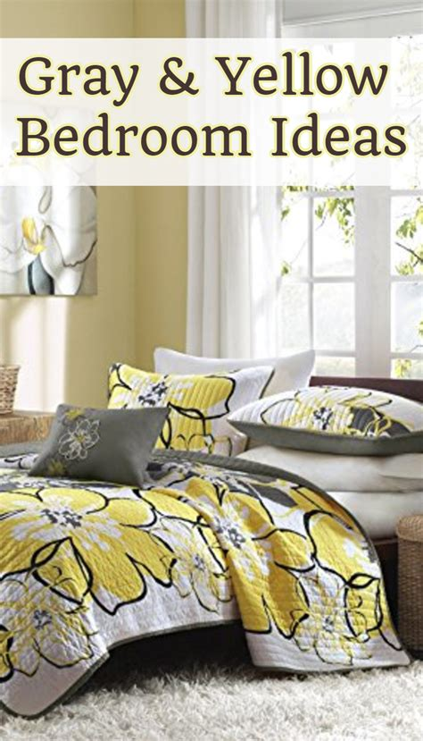 Yellow And Grey Bedroom Decor Ideas by Home Decor Home Decorating Ideas