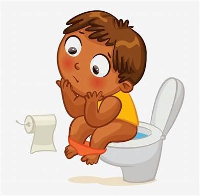 Potty Clipart Toilet Kid Clip Pottie Clock