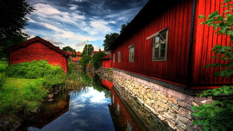 red village wallpapers hd wallpapers id