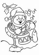 Elf Coloring Pages Christmas Funny Shelf Printable Sheets Colouring Playing Dog Colour Drum 4kids Holidays Drawings Printables Holiday Cute Elfs sketch template