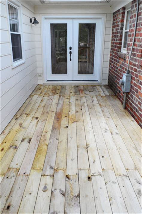 Olympic Deck Sealer Drying Time by Staining Sealing The Deck Finally House