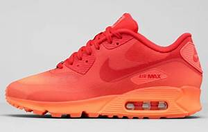 Nike Mens Air Max Neon Orange