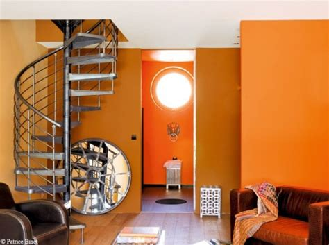 le de bureau orange quelle couleur choisir pour mon salon bricobistro
