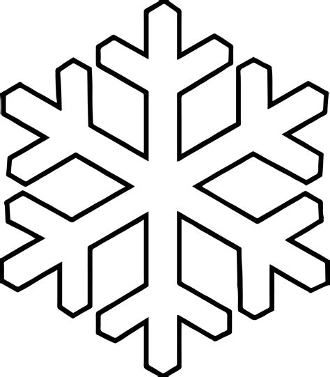Snowflake Coloring Page Www Snowflake Pages Coloring Pages