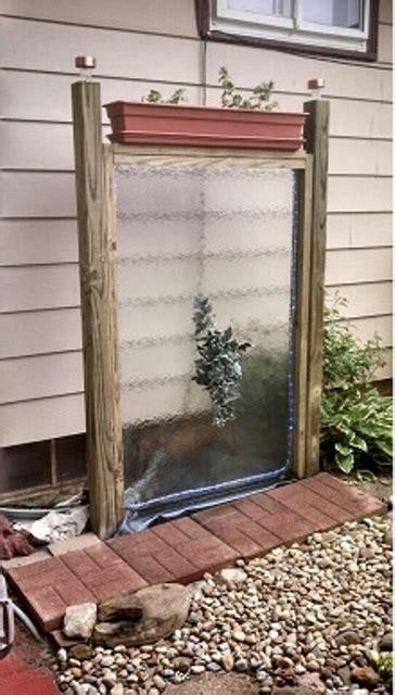 water wall diy 49 amazing outdoor water walls for your backyard digsdigs