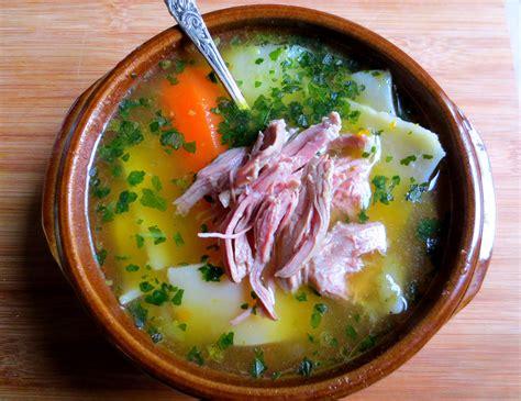 recette cuisine chilienne cazuela de pantrucas cassoulet ou soupe chilienne je