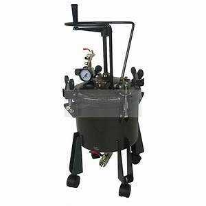 Pressure Tank 10 Litre Bottom Feed Manual Agitator