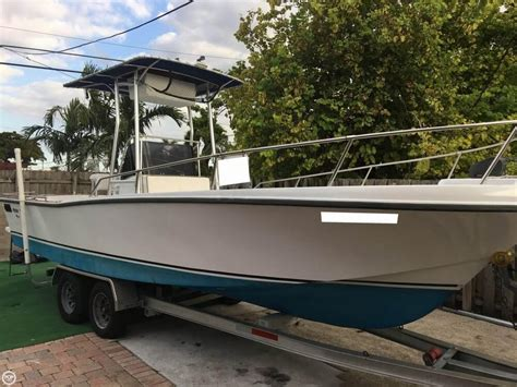 Center Console Boats For Sale In Miami by Used Center Console Mako Boats For Sale 4 Boats