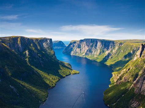 Gros Morne National Park Newfoundland And La Dor Canada