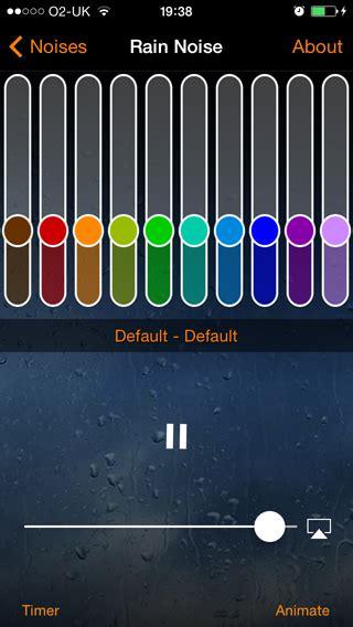 mynoise ios app  ultimate noise machine