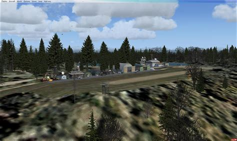 gulf island research scenery  fsx