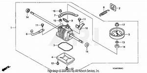 Honda Hrr216k3 Vxa Lawn Mower  Usa  Vin  Mzcg
