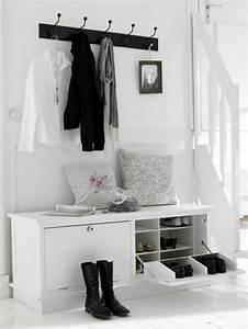 Meuble Entrée Ikea : meuble entree porte manteau bois ~ Teatrodelosmanantiales.com Idées de Décoration