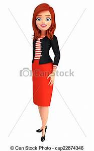 Image Gallery lady standing clip art