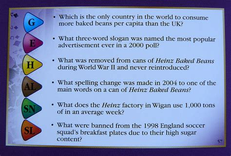 heinz trivial pursuit questions appropriately on card numb flickr