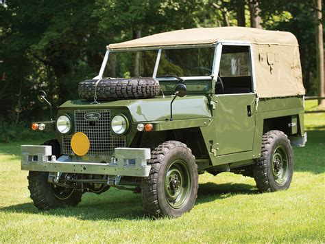 Wading Land Rover Wallpaper by 1968 Land Rover Lightweight Iia Offroad 4x4 F