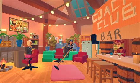 rec room clubhouse update create save  share