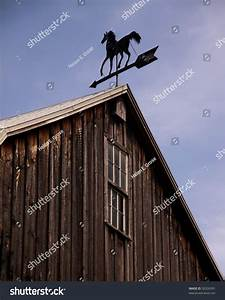 a weathervane atop a barn indicates the direction of the With barn wind vane