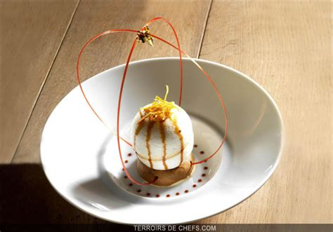 la cuisine des terroirs recettes ile flottante au café un dessert avec un joli coeur pour