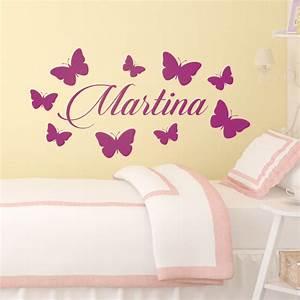 Wandtattoo Kinderzimmer Schmetterlinge : wandtattoo kinderzimmer ~ Sanjose-hotels-ca.com Haus und Dekorationen